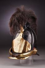 Oldenburg Helmet for Enlisted Cavalry Division (Dragoon) 1813.