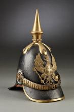 Prussian Infantry Officer's Spiked Helmet, Model 1843.