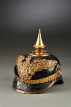 Prussian Officer's Candidate Spiked Helmet for the Grenadier Regiment Crown Prince Nr. 1 Konigsberg.