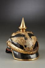 Prussian Enlisted Spiked Helmet for the 1st Garde Dragoon Regiment Model 1870.