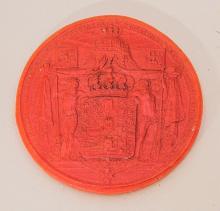 Prussia King Friedrich II Wax Seal.