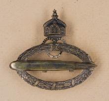 Imperial Air Ship Badge.