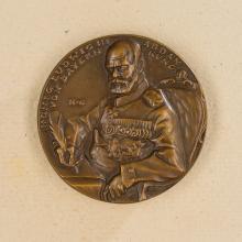 King Ludwig III Table Medal.