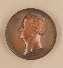 1770/1840 Bronze Commemorative Medal.