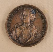 Fredericus Rex Bronze Commemorative Medal.