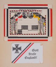 Military Postal Service Unused Carton.