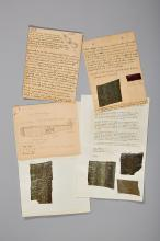 Letter Regarding the Downing of v. Richthofen and Werner Voss.