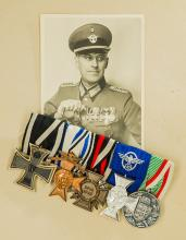 Third Reich Five Piece Medal Bar.