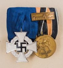 Third Reich Two Piece Medal Bar.