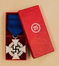 Third Reich 25 Year Faithful Service Cross.