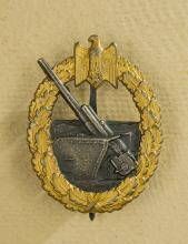 WWII Coastal Artillery Badge.