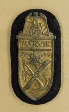 WWII Navy Narvik Shield.