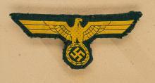 WWII Navy Coastal Artillery Enlisted Breast Eagle.