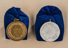 WWII Lot of Luftwaffe Single Medal Bars.