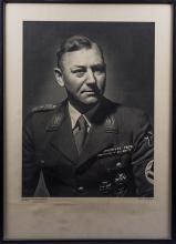 Third Reich Victor Lutze Formal Portrait.