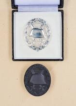1957 Silver Wound Badge.