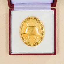 1957 Gold Wound Badge.