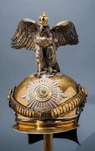 Prussian Garde du Corps Officer's Parade Helmet.