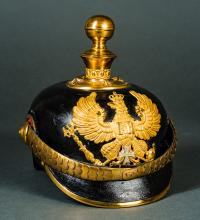 Imperial Prussian Reservists Artillery Parade Helmet.