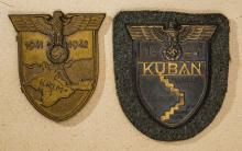 Third Reich Army Campaign Sleeve Shields.