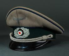 Third Reich Army Medical Officer`s Visor.