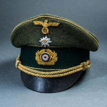Third Reich Reproduction Army General's Mountain Visor.