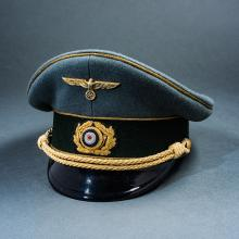 Third Reich Reproduction Army General's Visor.