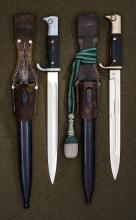 Group of Third Reich Army Dress Bayonets.