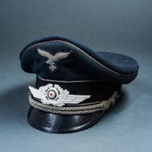 Third Reich Luftwaffe Officer's Visor.