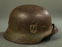 Third Reich Waffen-SS Helmet.