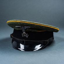 Third Reich Reproduction SS Visor Cap.