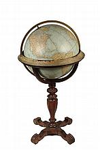 RARE TERRESTRIAL FLOOR GLOBE - 1918-1924 Rand-McNally, Chicago 18