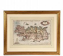 GERARDUS MERCATOR (Flanders/Germany, 1512-1594) - Map of