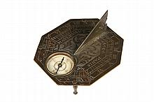 MINIATURE FRENCH SUNDIAL - 18th c