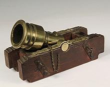 MODEL SIEGE MORTAR - Bronze Working Model of an 18th c
