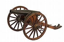 MODEL CIVIL WAR CANNON - 1857 Napoleon Bronze 12-pounder, a 1,227-pound bronze tube with a 4.62-inch un-rifled bore. Short range but versatile, it eventually made up one third of all light artillery pieces in the Unio...