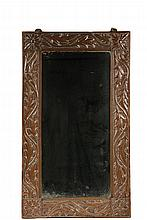 HAMMERED COPPER FRAMED MIRROR - English Aesthetic Period
