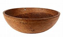 LARGE BURL BOWL - Single Piece Maple Mixing Bowl, found in Maine