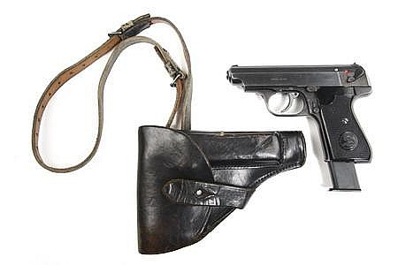 7.65 mm Nazi Semi-Automatic Hand Gun SSU