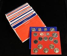 COINS - (7) US Mint Sets include: (2) 2003; (2) 2004; (2) 2005; (1) 2010. In original packages.