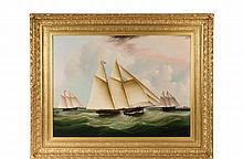 THIS LOT IS NOT AVAILABLE FOR ONLINE BIDDING JAMES EDWARD BUTTERSWORTH (NJ/NY/UK, 1817-1894) -