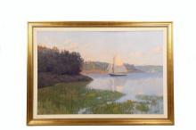 FRANK HANDLEN (Contemporary Maine) -