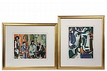 RICHARD TUCKER (ME, 1903-1979) - (2) Color Gouaches on board, including: