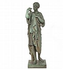 BRONZE SCULPTURE, AFTER THE ANCIENT MARBLE - 19th c.