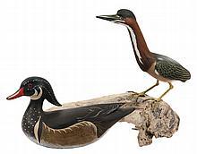 (2) DISPLAY BIRD DECOYS -