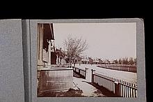 RARE MILITARY PHOTO ALBUM - Circa 1900-1905 Albumen Photos of Fort Douglas, Utah and Camp Jossman, P.I., in 7