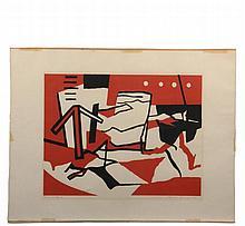RALSTON CRAWFORD (NY/Canada, 1906-1978) -