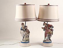 PAIR OF BISQUE FIGURES - Outstanding Pair of Bisque Figures, second half 19th c