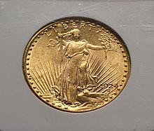 COIN - 1924 $20.00 St. Gaudens Gold, NGC MS64