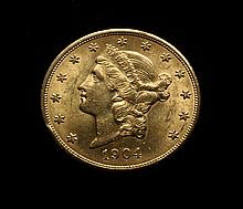 COIN - 1904 $20.00 Liberty Gold